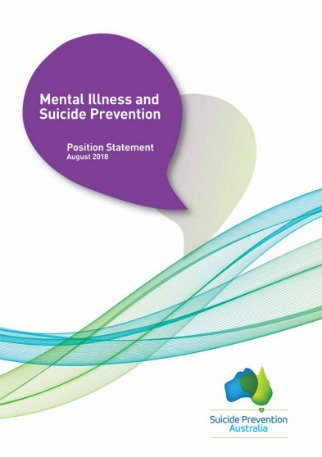 Mental Illness and Suicide Prevention: Position statement